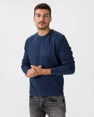 Modrá bunda bez kapucne Pepe jeans