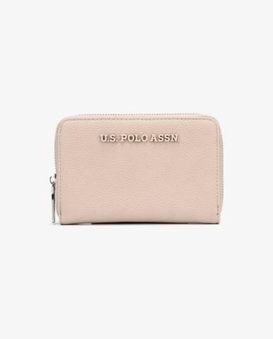 Béžová peňaženka U.S. Polo Assn