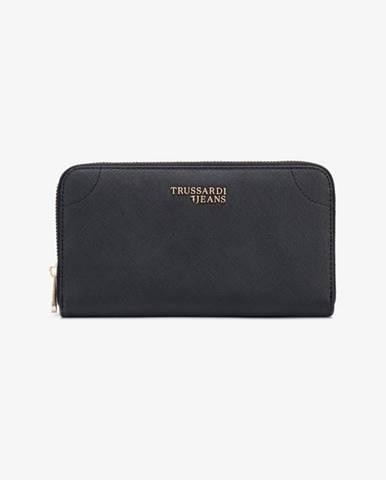 Čierna peňaženka Trussardi Jeans