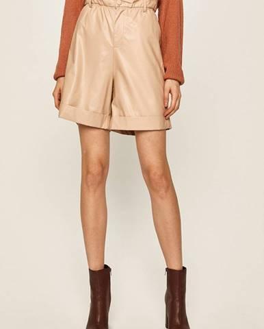Béžové šortky Answear