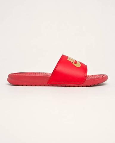 Červené sandále Nike Sportswear