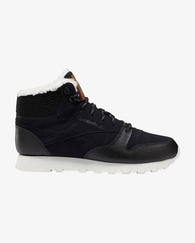 Čierne členková obuv Reebok