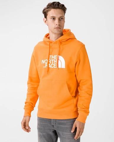 Oranžová bunda s kapucňou The North Face