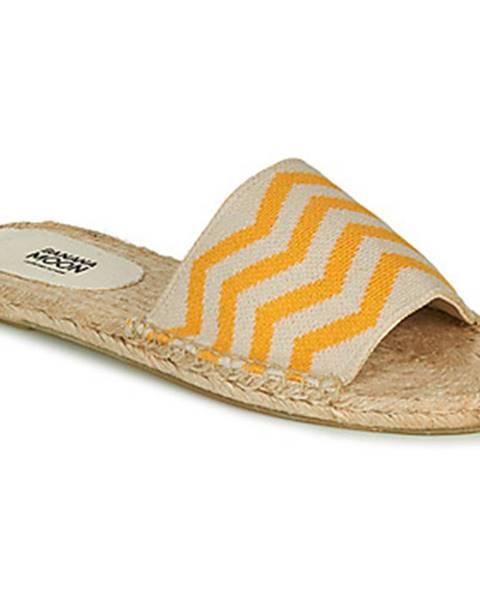 Žlté sandále Banana Moon