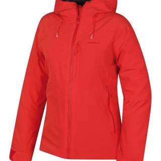 Narbi L jemná červená, S Dámska hardshell bunda