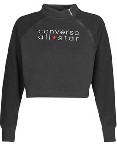 Čierna mikina Converse