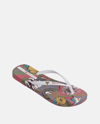 Biele papuče Ipanema